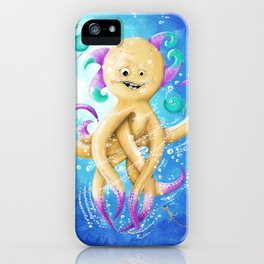 OCTOPUS MONSTER iPhone Case