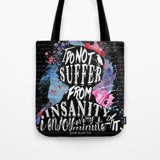 Poe - Insanity Tote Bag