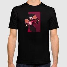 Steven Universe - Garnet Meat Beat Mania Mens Fitted Tee MEDIUM Black