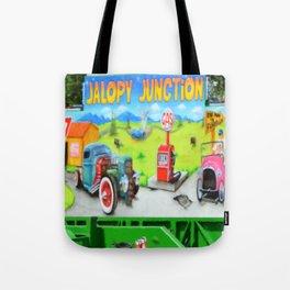 Jalopy Junction 3 Tote Bag