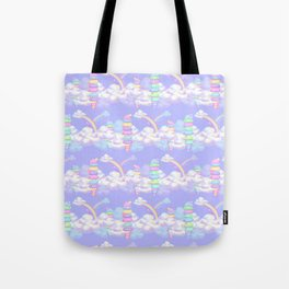 Ice Cream Skies Tote Bag