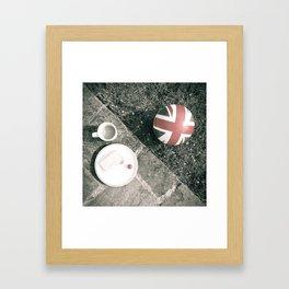 British Sunday | Still Life 88B Framed Art Print