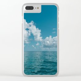 Hawaii Water VIII Clear iPhone Case