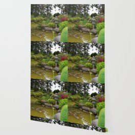 Japanese Garden Lantern Wallpaper