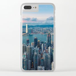 HONG KONG 30 Clear iPhone Case