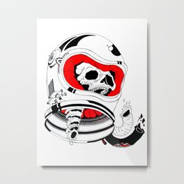 chopped in space Metal Print