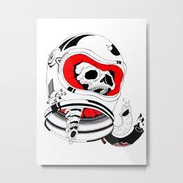 chopped in space Metal Print
