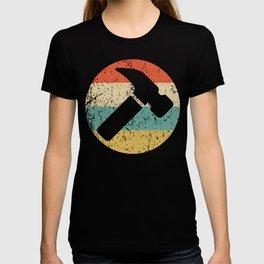 Carpenter Vintage Retro Hammer T-shirt