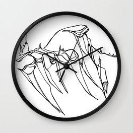 Cornice Country :: Single Line Wall Clock