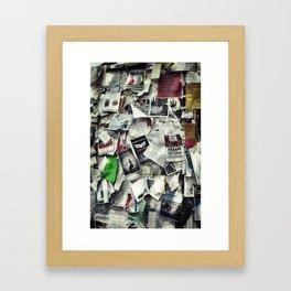 Nantucket Happenings Framed Art Print