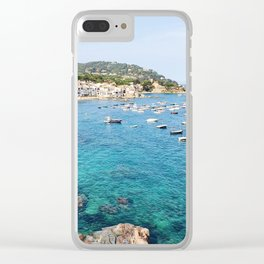 Costa Brava Spain Clear iPhone Case