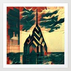 Philadelphia Prisms Art Print