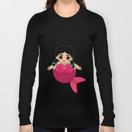 I'm Really A Mermaid Long Sleeve T-shirt