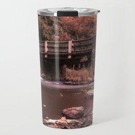 Lehigh Parkway Robin Hood Bridge - Impressionism Travel Mug