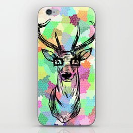 Deer are people too iPhone Skin