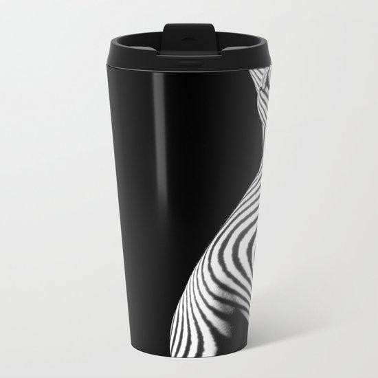 ZebraWoman Metal Travel Mug