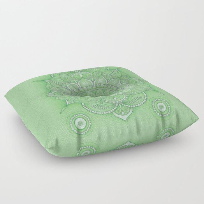 mandala Chakra Anahata Floor Pillow