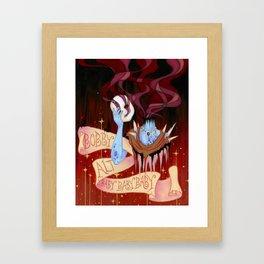 Baby (Bobby Alt) Framed Art Print