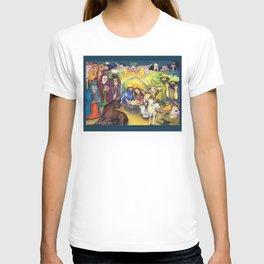 Peace on Earth Nativity T-shirt