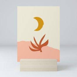 Waxing Crescent Moon Mini Art Print