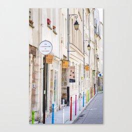 Paris Street Style No. 3 Canvas Print