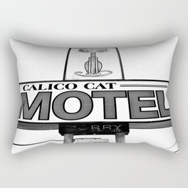 Cool cat motel Rectangular Pillow
