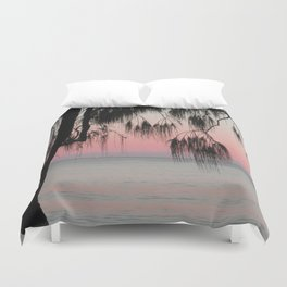The Sunrise Weeping Tree Duvet Cover