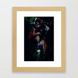 A Male Gaze Framed Art Print