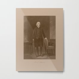 Founding Father Samuel Adams Metal Print