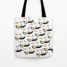 San Francisco pattern Tote Bag