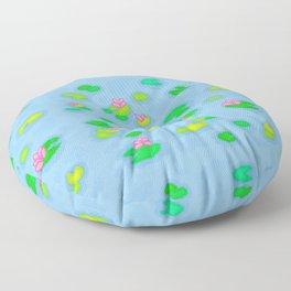 Pixel Lake Floor Pillow