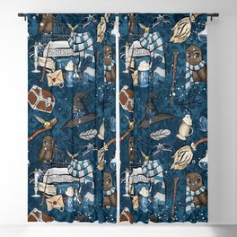 Hogwarts Things Blackout Curtain