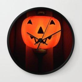 Pumpkin Laughs Wall Clock