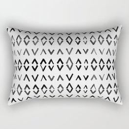 Scandinavian Diamond Pattern Rectangular Pillow
