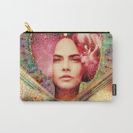 Violet Goddess Carry-All Pouch