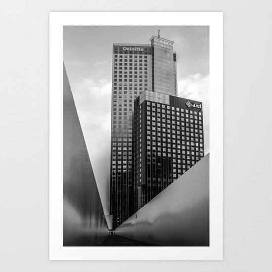 Maastoren Rotterdam Art Print