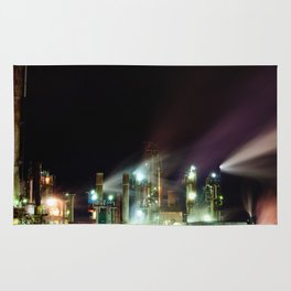 Refinery at Night Rug