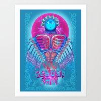 Sebosa Soul Art Print