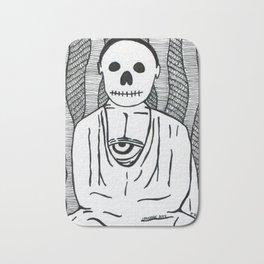 Skulls&Buddha 57 Bath Mat