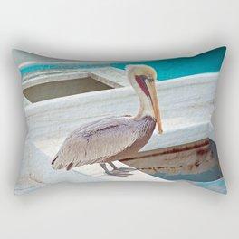 PELICAN POSE Rectangular Pillow