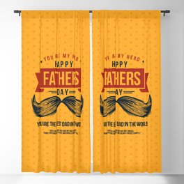 Happy Father's Day, My Daddy is my Superhero Blackout Curtain