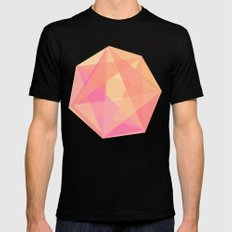Gem MEDIUM Black Mens Fitted Tee