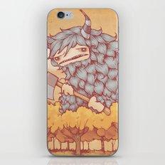 巨大的柴夫 (Great Firewood Husband) iPhone & iPod Skin