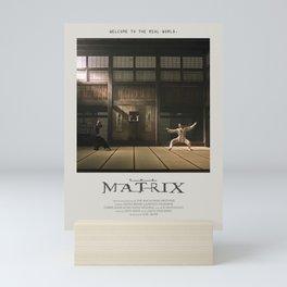 The Matrix (1999) Minimalist Poster Mini Art Print