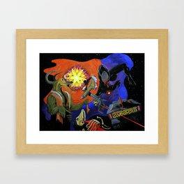 Astral Framed Art Print