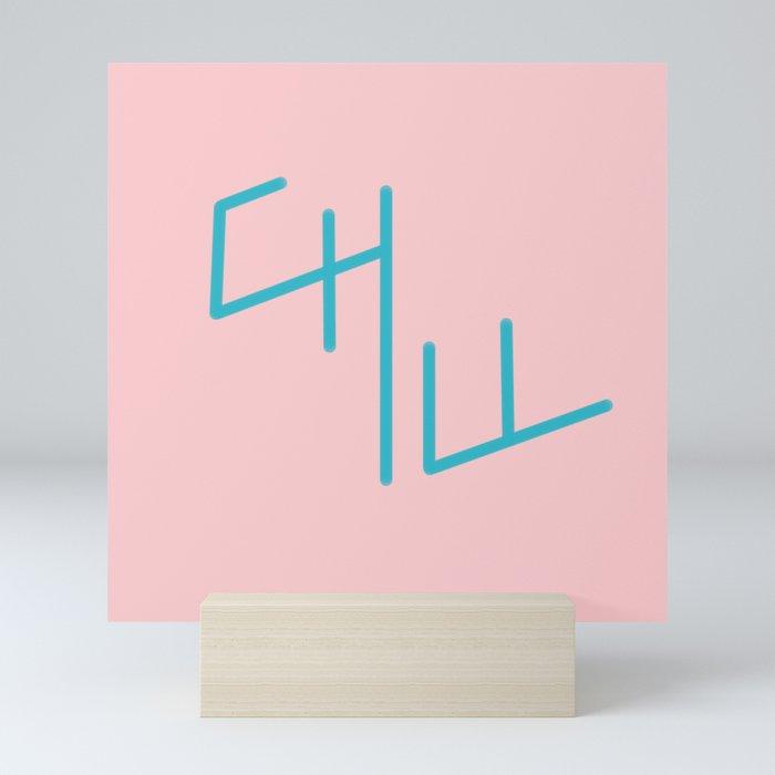Chill Mini Art Print