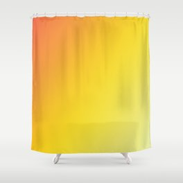 Blinding Sun - Gradients are the new colors Shower Curtain