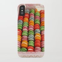 macaroons iPhone & iPod Cases featuring Macaroons by Mia Kellman