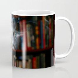 painting with Smoke - Dancing Horse Coffee Mug