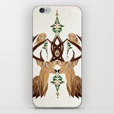 deer owl iPhone & iPod Skin